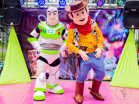 Show Toy Story Happy Party