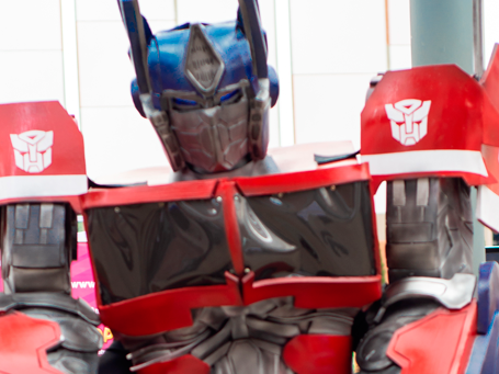 Transformers Happy Party