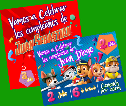 Fiesta Virtual Happy Party